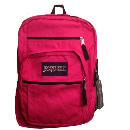 The JanSport® Mesh Pack is made of polyester mesh and features a large main compartment.