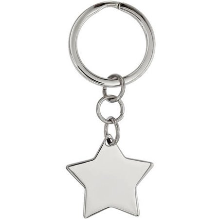 Stainless Steel Polished Star Key - Stainless Steel Polished Key