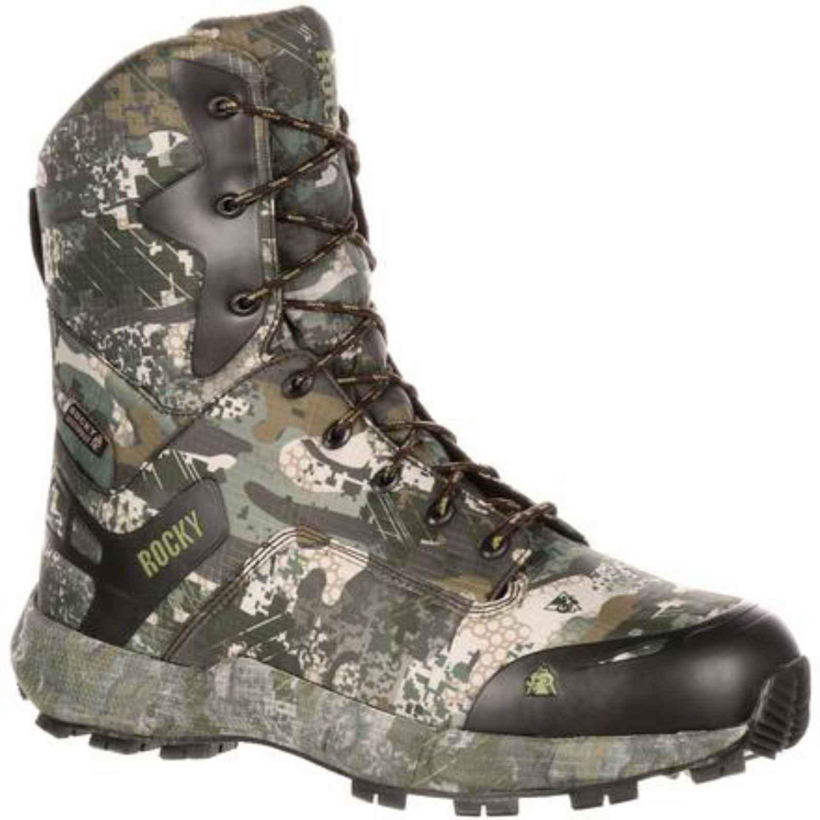 """Men's Rocky 8"""" Broadhead Waterproof Outdoor Boot by ROCKY BRANDS"""