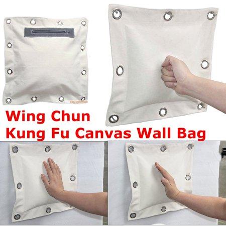 Wing Chun Kung Fu Wall Bag Kick Boxing Striking Canvas Punch Bag