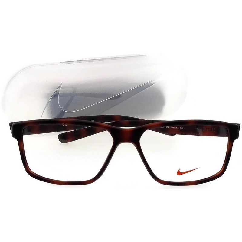 Fascinante lucha mudo  Nike 7092-200-57 Men's Rectangle Tortoise Frame Demo Lens Genuine Eyeglasses  NWT - Walmart.com - Walmart.com