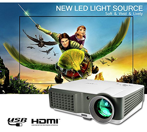 EUG Portable Digital Widescreen LCD LED Home Theater Cine...