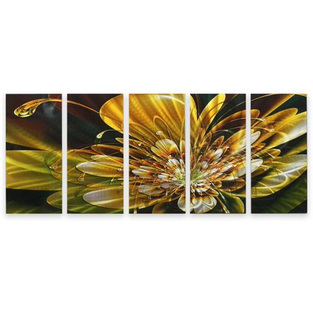 Metal wall art abstract modern contemporary sculpture home for Walmart art decor