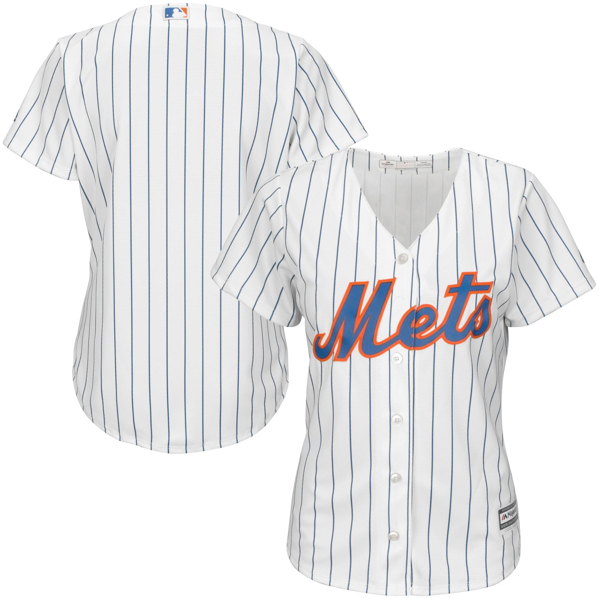 New York Mets Majestic Women's Cool Base Jersey - White