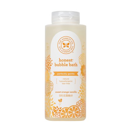 Honest Company Baby Bubble Bath, Sweet Orange Vanilla, 12 Fl Oz