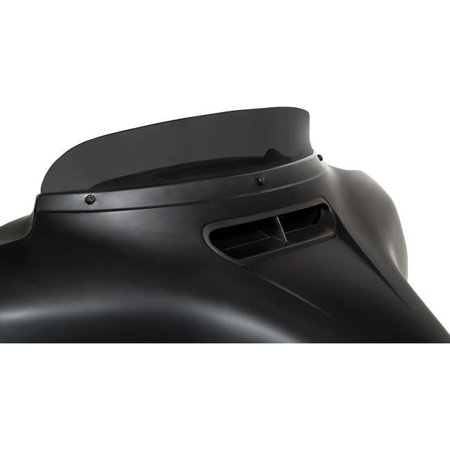Memphis Shades MEP87810 3in. Spoiler Windshield for Memphis Shades Batwing Fairing - Dark Smoke - Memphis Shades Motorcycle Windshields