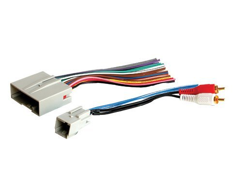 stereo wire harness ford escape 08 09 10 11 2008 2009 2010 2011 (car radio wiring installation parts) Radio Harness Adapter