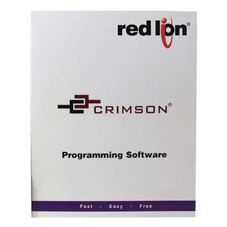 RED LION SFCRD200 Crimson 2.0 Program Software Disk,5