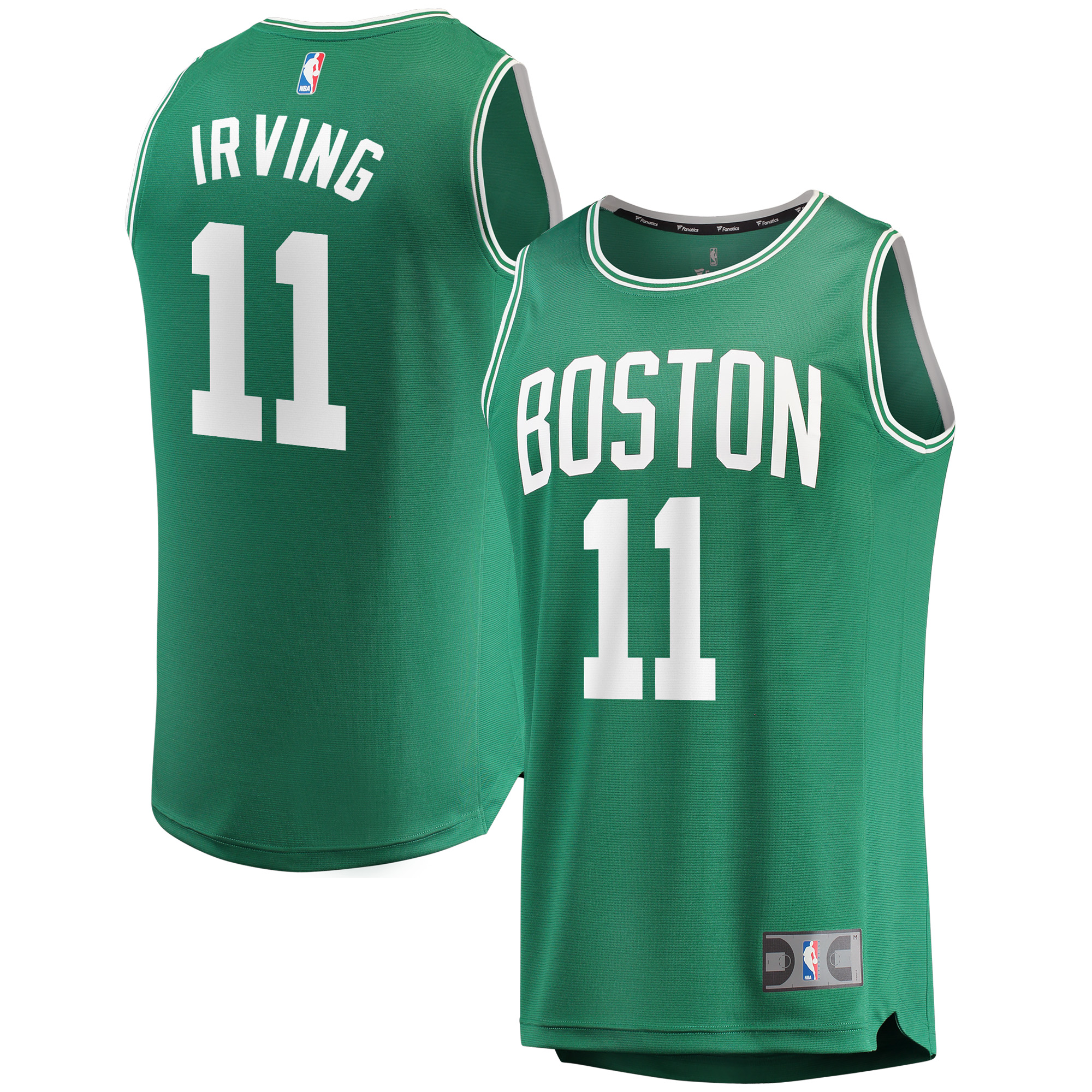Kyrie Irving Boston Celtics Fanatics Branded Fast Break Replica Player Jersey Kelly Green - Icon Edition