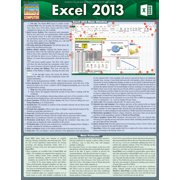 BarCharts 9781423219996 Excel 2013 Quickstudy Easel
