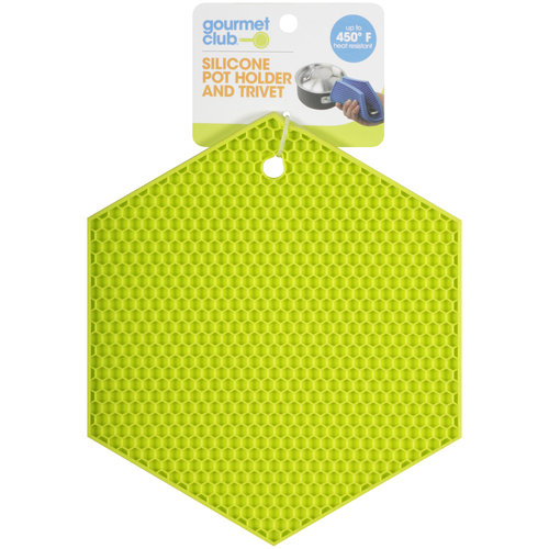 Gourmet Club Silicone Pot Holder and Trivet