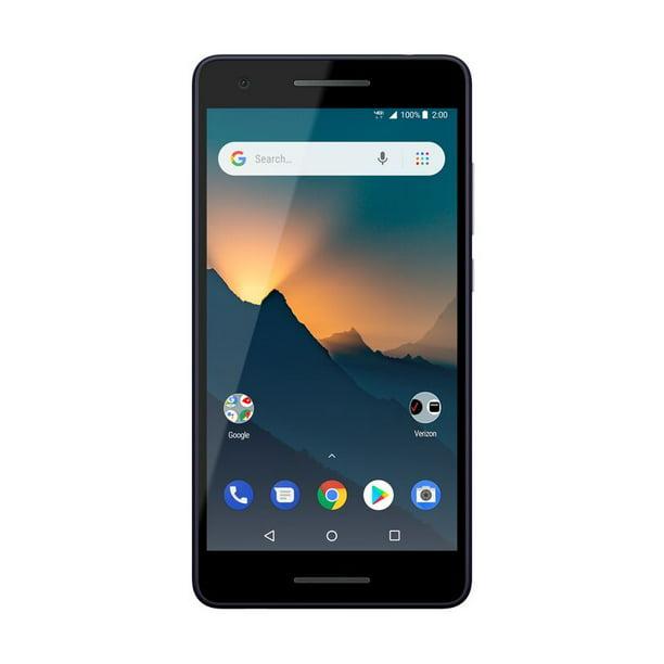 Verizon Wireless Nokia 2v 8gb Prepaid Smartphone Black Walmart Com Walmart Com