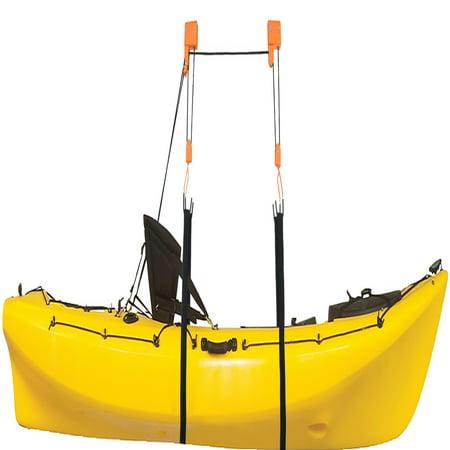 Heavy Duty Garage Utility Canoe and Kayak Lift Hoist ...