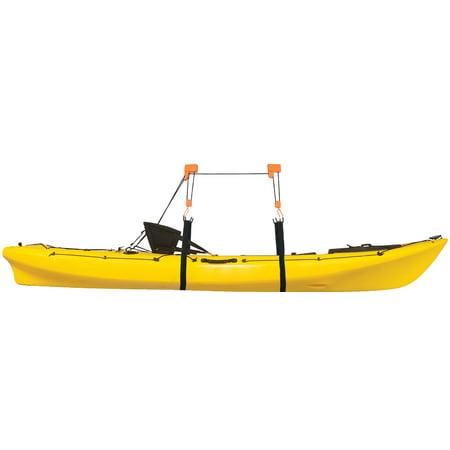 Heavy Duty Garage Utility Canoe and Kayak Lift Hoist Pulley Storage