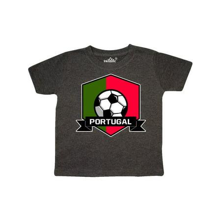 Soccer Portugal Flag Banner Toddler T-Shirt