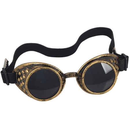 C.F.GOGGLE Steampunk Retro Sunglasses Special Lens Men Women Designer Cosplay Punk Goggles (Special Lens)