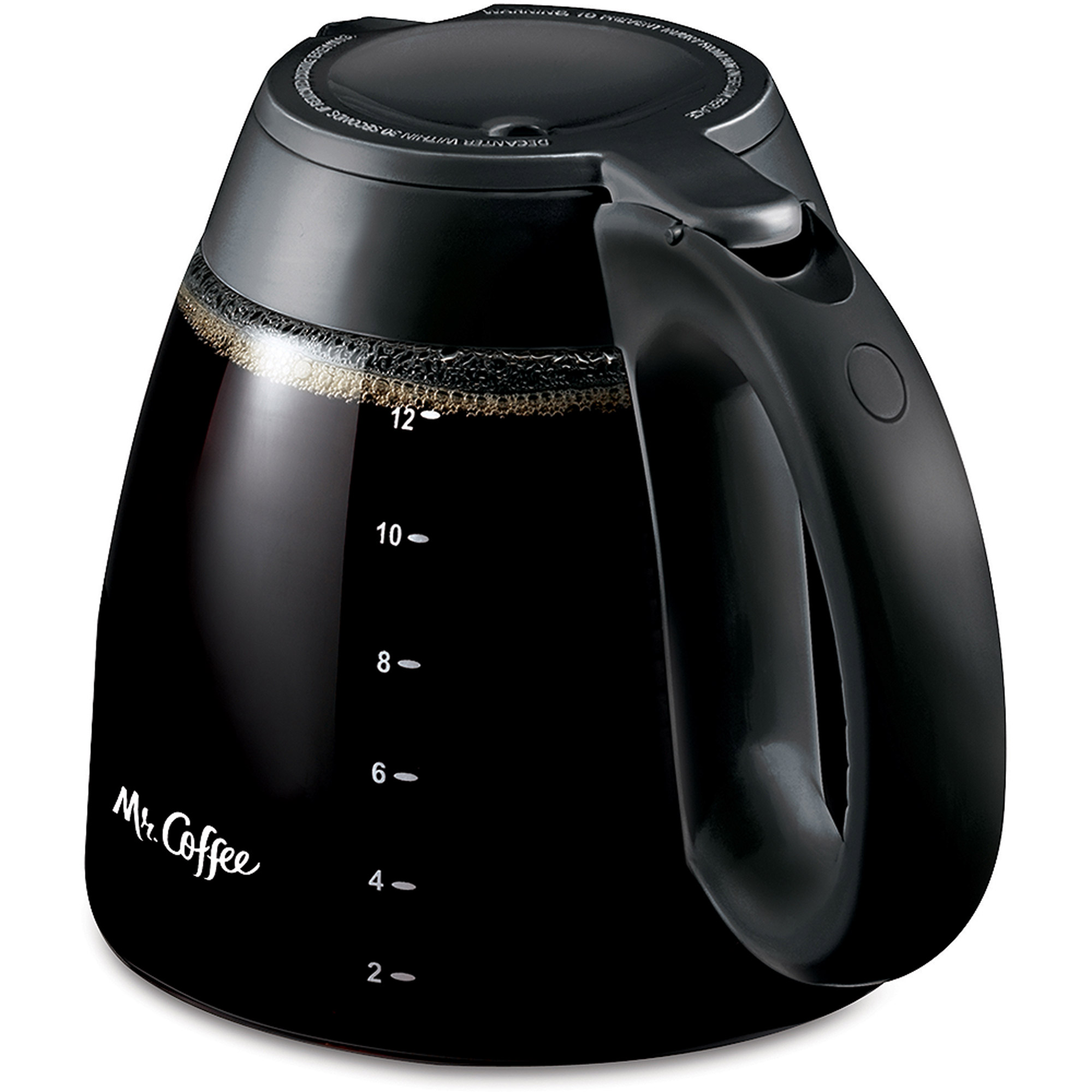 Mr. Coffee ISD13 12-Cup Replacement Decanter for all IS and FT Mr. Coffee series coffeemakers, ISD13