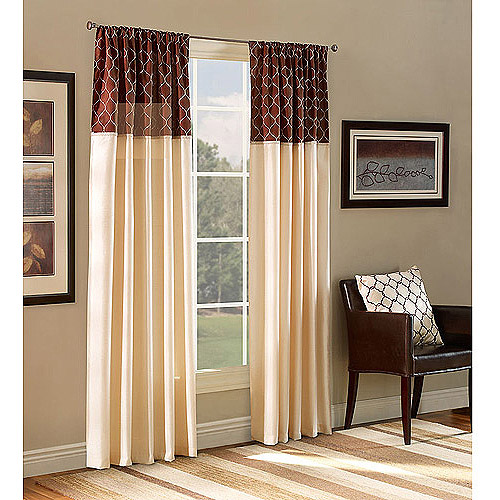 Belle Maison Ludlow Reversible Curtain Panel