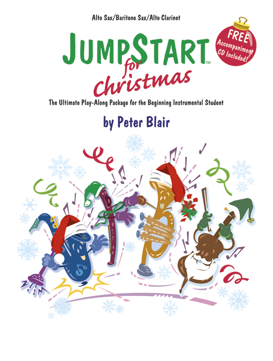 JumpStart for Christmas Flute Oboe Vibes Peter Blair SongBook 501068H by