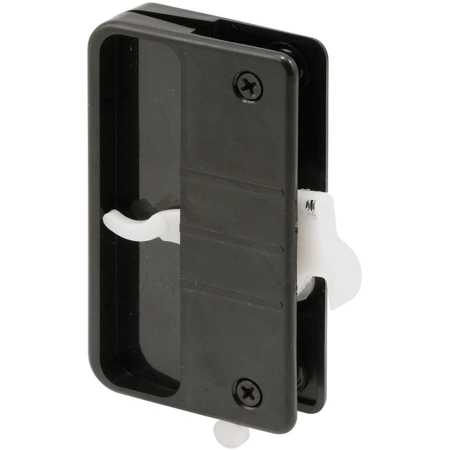 "Prime Line A108 3"" Black Sliding Screen Door Latch & Pull"