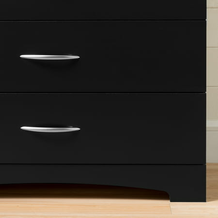 South Shore SoHo 5-Drawer Dresser, Black