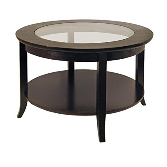 Source Outdoor SO-2006-323-ESP Circa Small Coffee Round Table, Espresso by Source Outdoor
