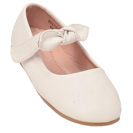 Marie Antoinette Shoes For Sale (Anne Marie Little Girls White Tie Hook-And-Loop Mary Jane)