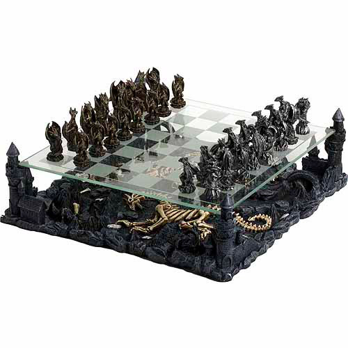 CHH 3-D Dragon Chess Set by CHH Quality Product Inc