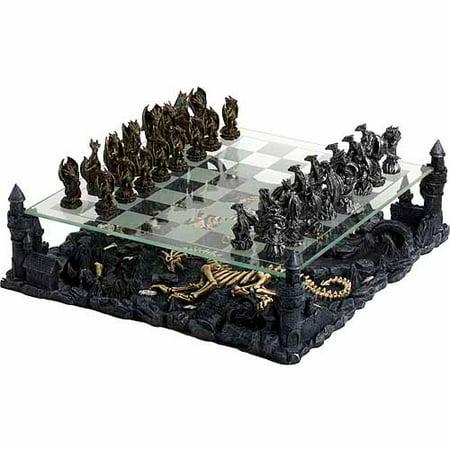 Chh Chess Set (CHH 3-D Dragon Chess Set)