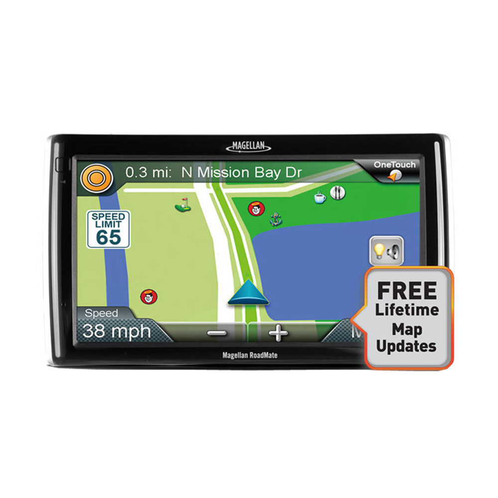 MAGELLAN RV9145SGLUC RoadMate(R) RV 9145-LM 7 Inch. GPS Device with Free Lifetime Map Updates