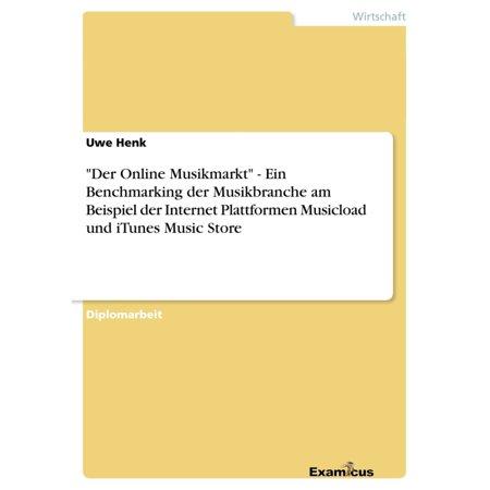 'Der Online Musikmarkt' - Ein Benchmarking der Musikbranche am Beispiel der Internet Plattformen Musicload und iTunes Music Store - (Music On Iphone Not In Itunes Library)