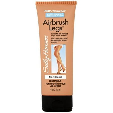 Sally Hansen Airbrush Legs Leg Makeup, Tan 4 oz (Pack of 3)