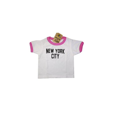 Nyc Factory New York City Toddler John Lennon Ringer Nyc Baby Tee