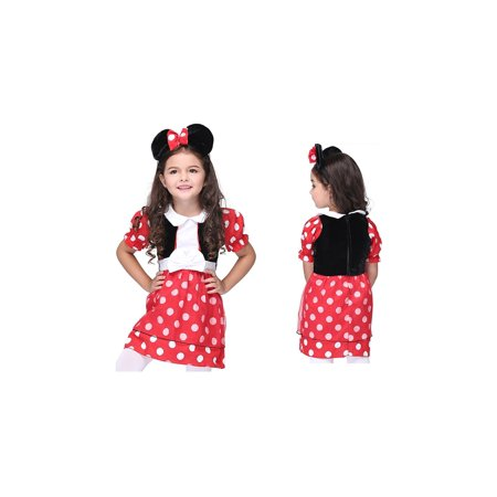 Girl's Alice Wonderland Halloween Costume Dress