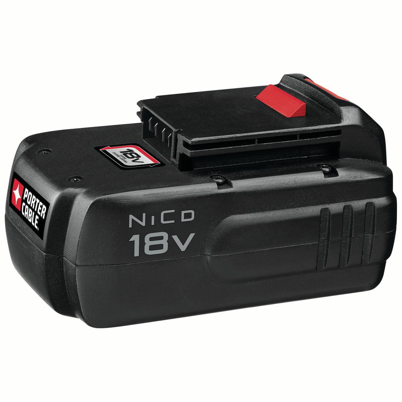 PORTER CABLE 18-Volt Ni-Cad Battery, PC18B