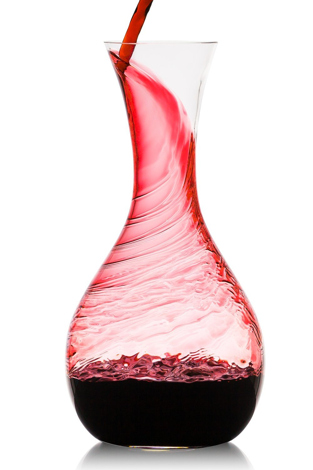 Culinaire 40.5oz ( 1200ml ) Artisan Wine Decanter | Beautiful Wine Carafe in Hand Blown... by Culinaire