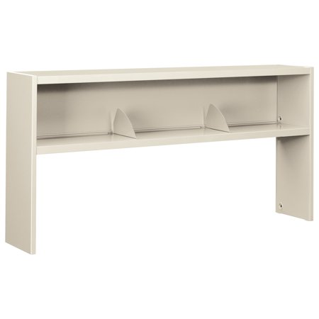Hon 38000 Series Stack On Open Shelf Hutch  72W X 13 1 2D X 34 3 4H  Light Gray