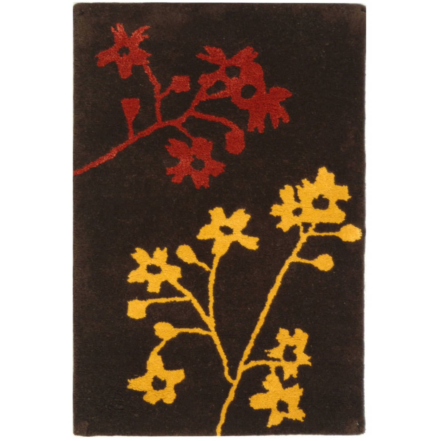 Safavieh Soho Emerald Wool Rug, Brown/Red