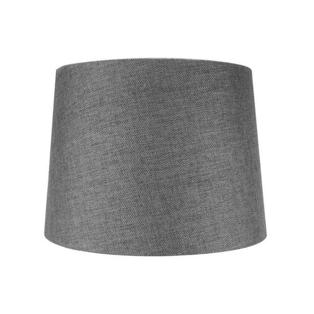 12x14x10 Slip Uno Fitter Hardback Drum, Slip Uno Drum Lamp Shades
