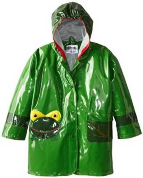 Kidorable Little Girls Fairy All Weather Waterproof Coat Green
