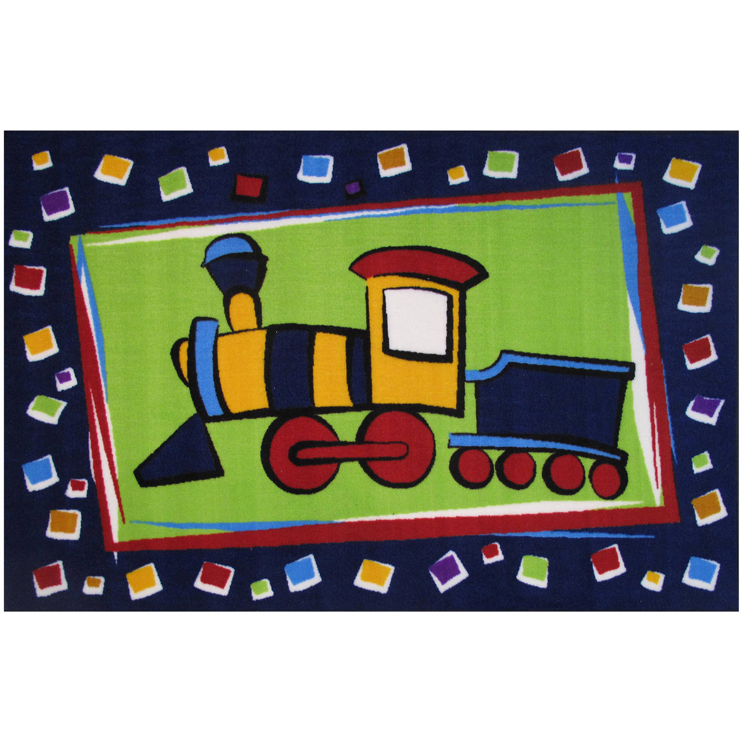 Fun Rugs Choo Choo Train Kids Rugs