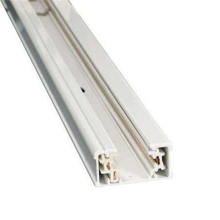 Jesco Lighting H1TR2-WT 2 ft. Single Circuit H Track - White
