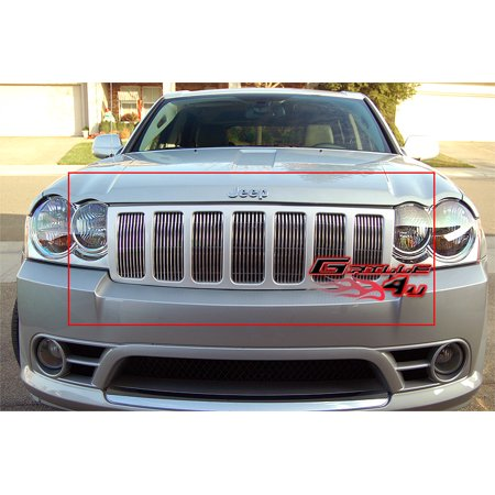 06-08 Jeep Grand Cherokee Billet Grille Grill Insert