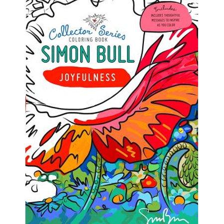 Simon Bull Coloring Book : Joyfulness