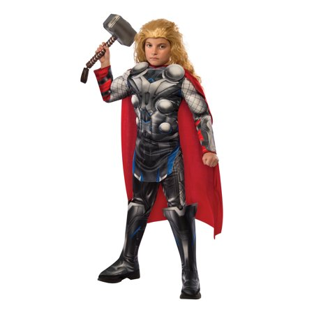 Child Deluxe Thor Costume by Rubies 610433 - Thor Halloween Costume Amazon