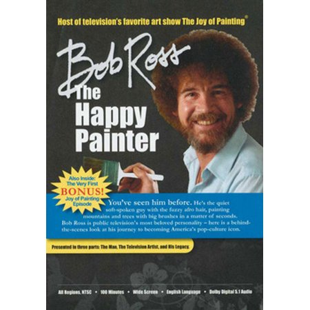 Bob Ross: The Happy Painter (DVD)](Rob Ross Painter)