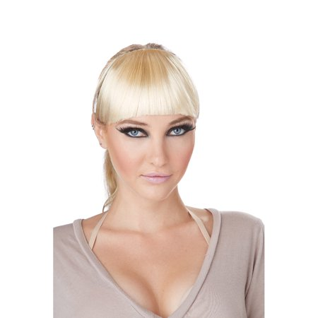 Adult Blonde Clip-on Bangs by California Costumes 70780 - Blonde Halloween Costumes Ideas
