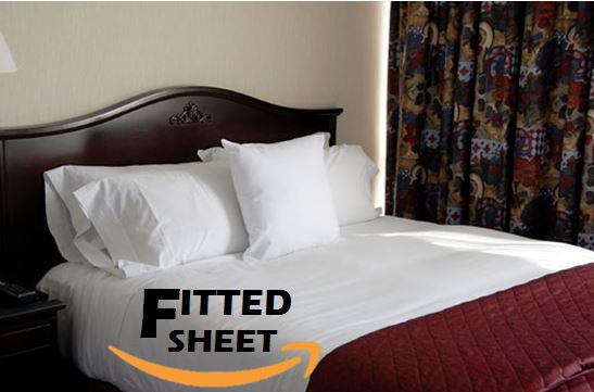 Premium Soft Fitted Bed Sheet, Jersey Knit Sheet, 2pk