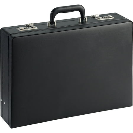 LLR61614, Expandable Attache Case, 1, Black
