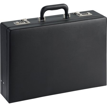 - LLR61614, Expandable Attache Case, 1, Black